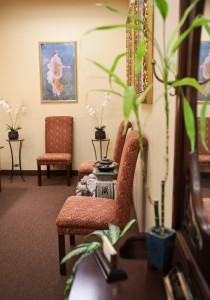 We provide a comfortable waiting room for patients.